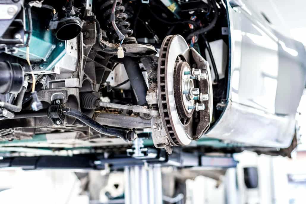 motorreparation på skadecenter
