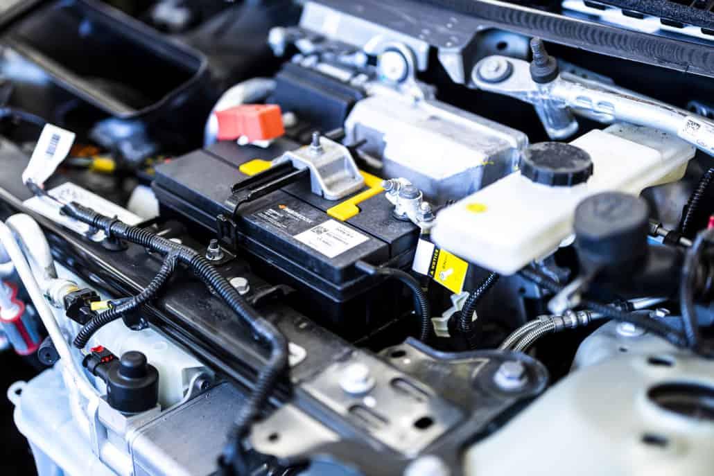 reparation af motorskader